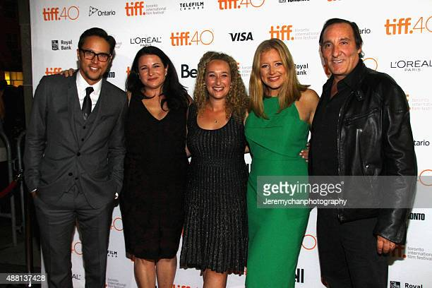 Director/writer Cary Fukunaga producers Amy Kaufman Riva Marker Daniela Taplin Lundberg and Daniel Crown attend the 'Beasts Of No Nation' premiere...