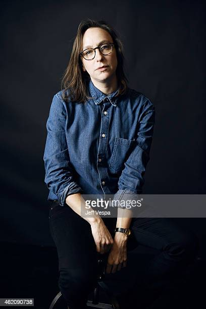 Director/writer Celine Sciamma from Girlhood poses for a portrait at the Village at the Lift Presented by McDonald's McCafe during the 2015 Sundance...