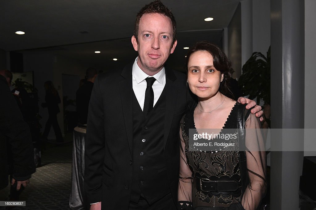 Director/writer Craig Scott Rosenbraugh and producer Marianna Yarovskaya attend a screening of 1 Earth Productions' 'Greedy Lying Bastards' at Harmony Gold Theatre on March 6, 2013 in Los Angeles, California.