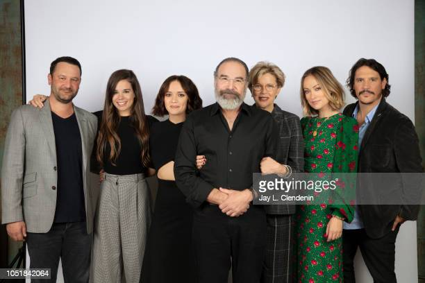 Director/writer Dan Fogelman actors Laia Costa Olivia Cooke Mandy Patikin Annette Bening Olivia Wilde and Sergio PerisMencheta from 'Life Itself' are...