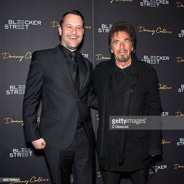 Director/writer Dan Fogelman and Al Pacino attend the Danny Collins New York Premiere at AMC Lincoln Square Theater on March 18 2015 in New York City
