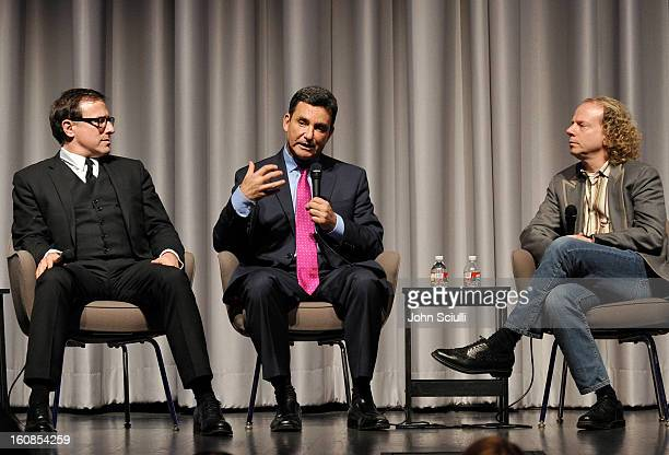Director/Writer David O Russell Dr Bruce Hensel and Producer Bruce Cohen discuss removing the stigma of mental illness at Museum Of Tolerance on...