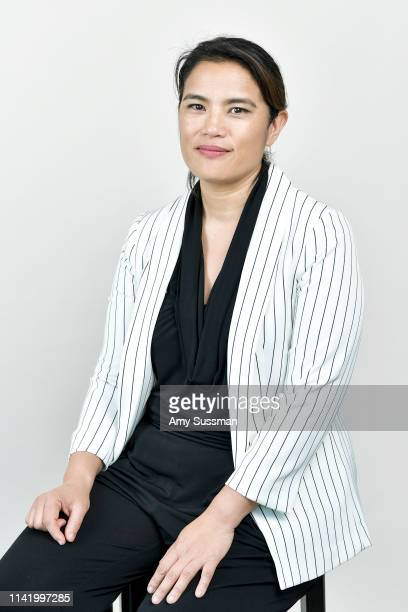Director/writer Diane Paragas from 'Yellow Rose' is photographed at the Los Angeles Asian Pacific Film Festival on May 3 2019 in Los Angeles...