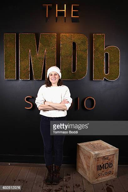 Director/writer Gillian Robespierre of 'Landline' attends The IMDb Studio featuring the Filmmaker Discovery Lounge presented by Amazon Video Direct...
