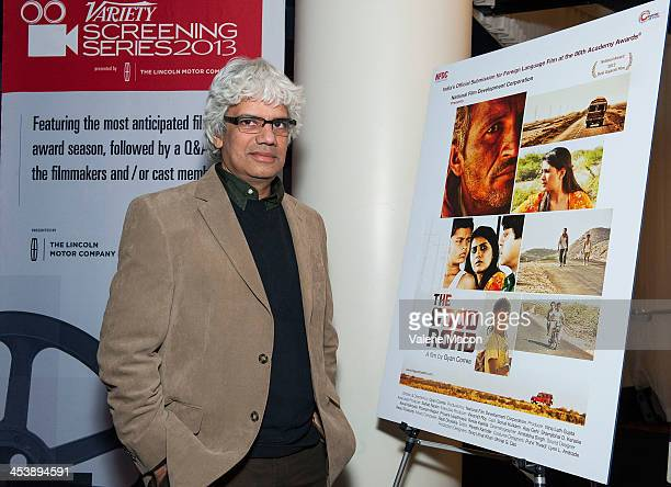 Director/writer Gyan Correa attends the 2013 Variety Screening Series Presents National Film Development Corporation Of India's The Good Road at...
