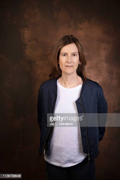 Director/writer Joanna Hogg from 'The Souvenir' is photographed for Los Angeles Times on January 28 2019 at the 2019 Sundance Film Festival in Salt...
