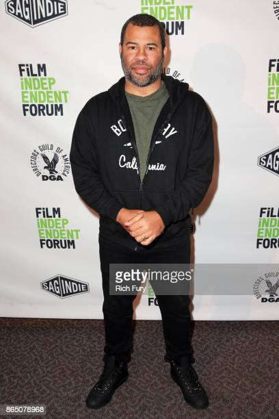 Director/writer Jordan Peele attends day 3 of the Film Independent Forum at DGA Theater on October 22 2017 in Los Angeles California