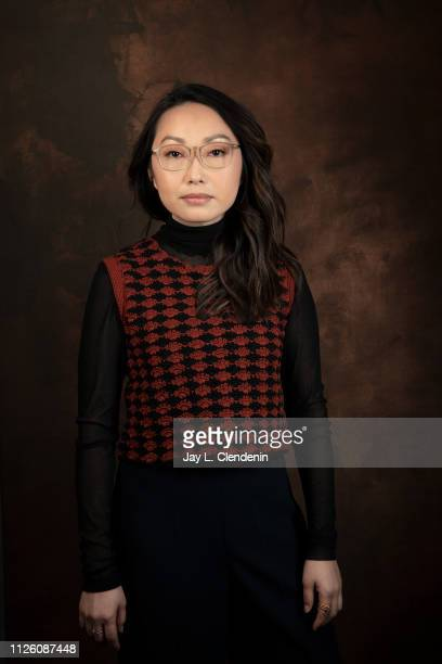 Director/writer Lulu Wang from 'The Farewell' is photographed for Los Angeles Times on January 26 2019 at the 2019 Sundance Film Festival in Salt...