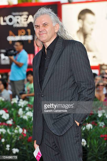 Director/writer Michael Glawogger attends the Damsels In Distress premiere and closing ceremony during the 68th Venice Film Festival at Palazzo del...