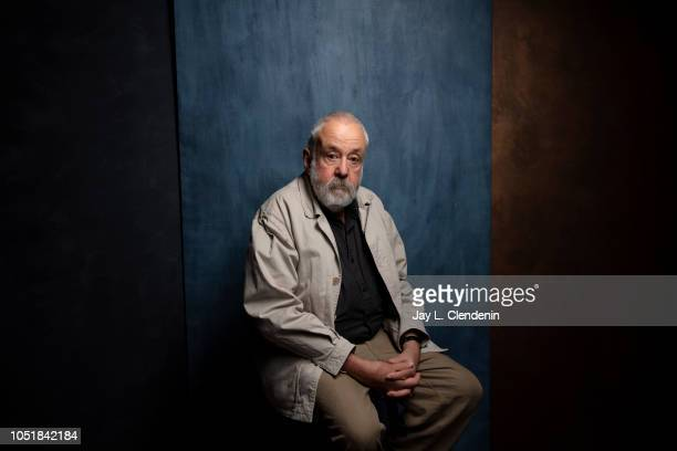 Director/writer Mike Leigh from 'Peterloo' is photographed for Los Angeles Times on September 11 2018 in Toronto Ontario PUBLISHED IMAGE CREDIT MUST...