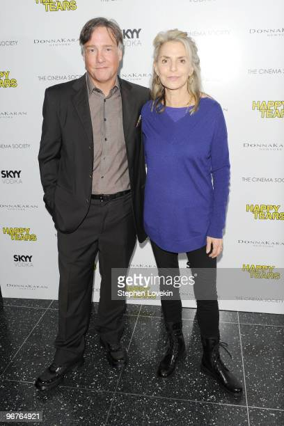 Director/Writer Mitchell Lichtenstein and mother Dorothy Lichtenstein attend a screening of Happy Tears hosted by the Cinema Society and Donna Karan...