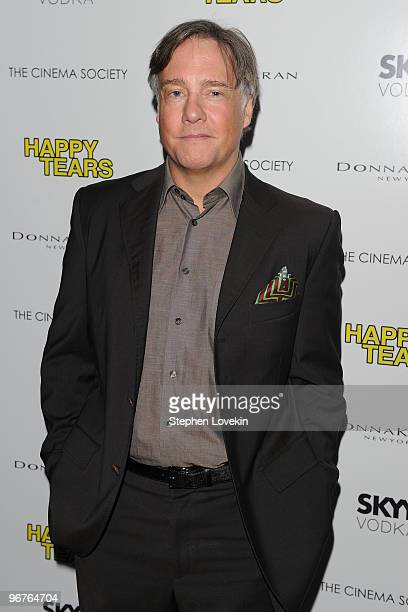 Director/Writer Mitchell Lichtenstein attends a screening of Happy Tears hosted by the Cinema Society and Donna Karan at The Museum of Modern Art on...