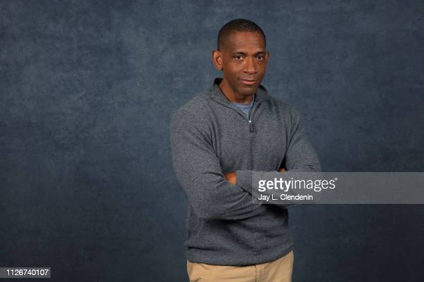 Director/writer Noble Jones from 'The Tomorrow Man' is photographed for Los Angeles Times on January 29 2019 at the 2019 Sundance Film Festival in...
