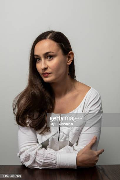 Director/writer Patricia Visal Delgado from 'La Leyenda Negra' is photographed in the LA Times Studio at the Sundance Film Festival on January 28...