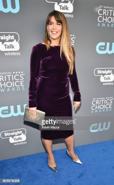 Directorwriter Patty Jenkins attends The 23rd Annual Critics' Choice Awards at Barker Hangar on January 11 2018 in Santa Monica California