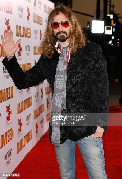Director/writer Rob Zombie arrives to the Los Angeles premiere of Halloween at Grauman's Chinese Theater on August 23 2007 in Hollywood California