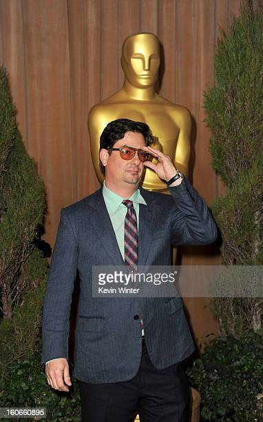 Director/writer Roman Coppola attends the 85th Academy Awards Nominations Luncheon at The Beverly Hilton Hotel on February 4 2013 in Beverly Hills...