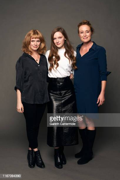 Director/writer Rose Glass, actors Morfydd Clark and Jennifer Ehle from the film 'Saint Maud' pose for a portrait during the 2019 Toronto...