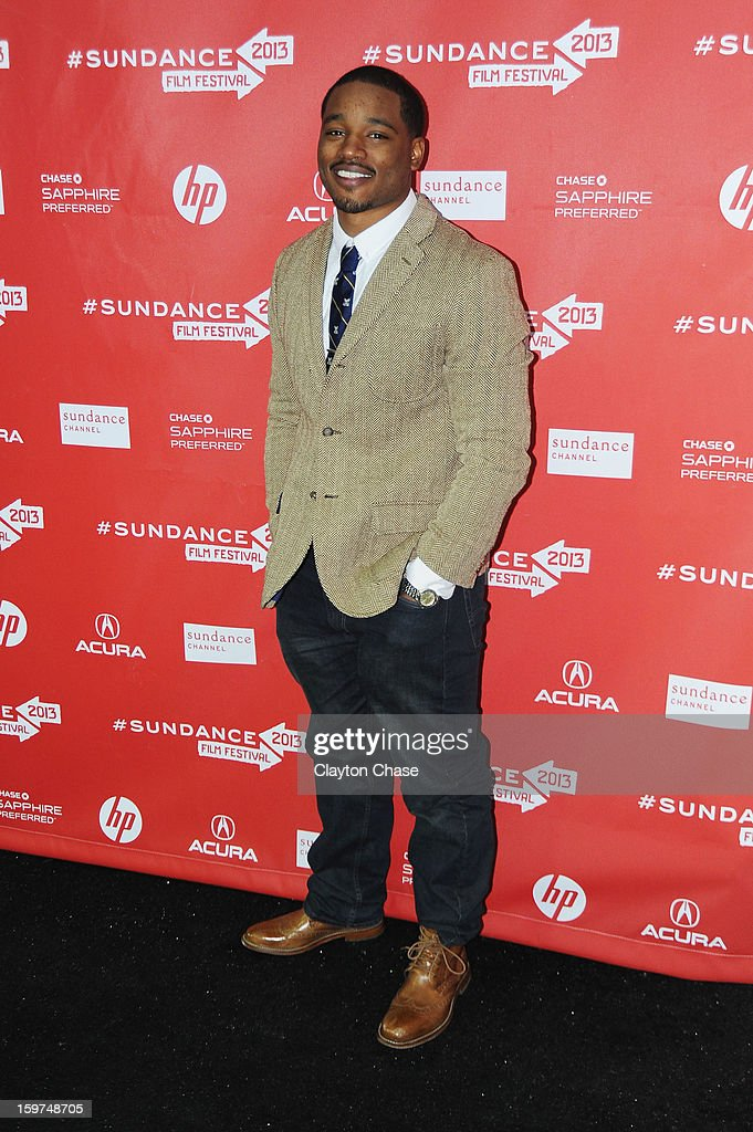 Director/Writer Ryan Coogler attends the 'Fruitvale' premiere at The Marc Theatre during the 2013 Sundance Film Festival on January 19, 2013 in Park City, Utah.