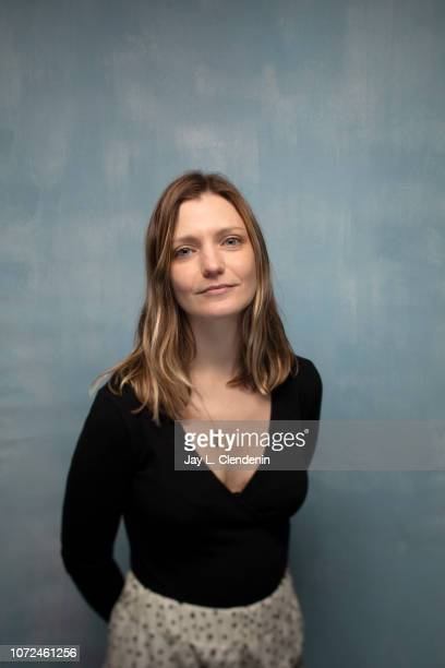 """Director/writer Sara Colangelo from """"The Kindergarten Teacher"""" is photographed for Los Angeles Times on January 21, 2018 in the L.A. Times Studio at..."""