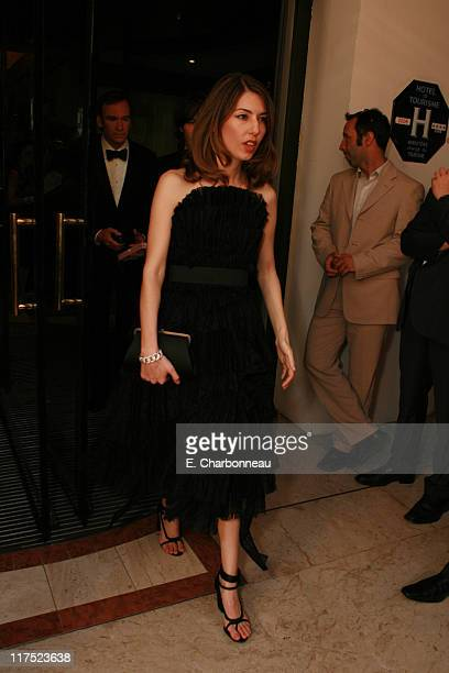 Director/Writer Sofia Coppola during Columbia Pictures' ' Marie Antoinette' Pre Premiere Reception at Majestic Hotel in Cannes France