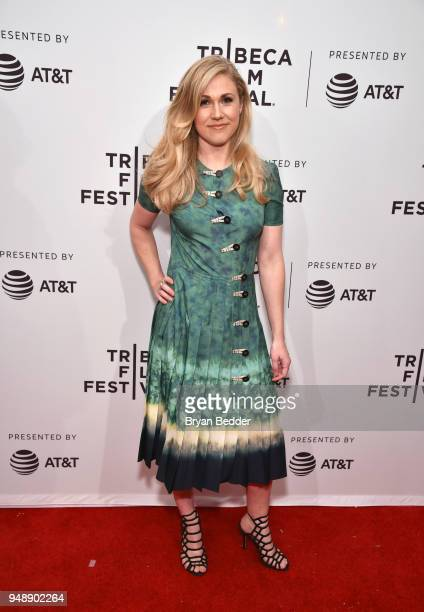 Director/writer Yolanda Ramke attends 'Cargo' Red Carpet Premiere 2018 Tribeca Film Festival at SVA Theatre on April 19 2018 in New York City