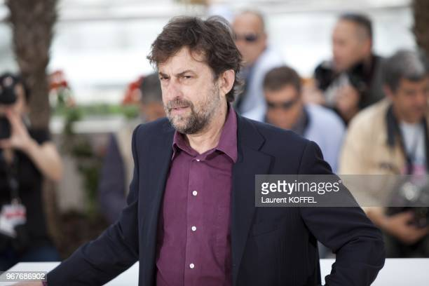 Director/writer/actor Nanni Moretti attends the Habemus Papam photocall at the Palais des Festivals during the 64th Cannes Film Festival on May 13...
