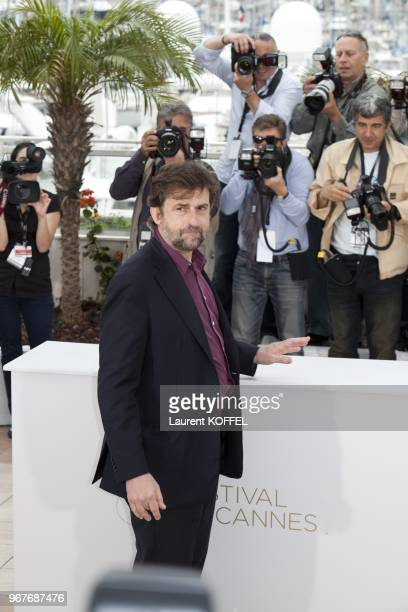 Director/writer/actor Nanni Moretti attends the 'Habemus Papam' photocall at the Palais des Festivals during the 64th Cannes Film Festival on May 13...