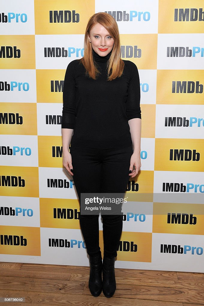 Director/writer/actress Bryce Dallas Howard in The IMDb Studio In Park City, Utah: Day Four - on January 25, 2016 in Park City, Utah.