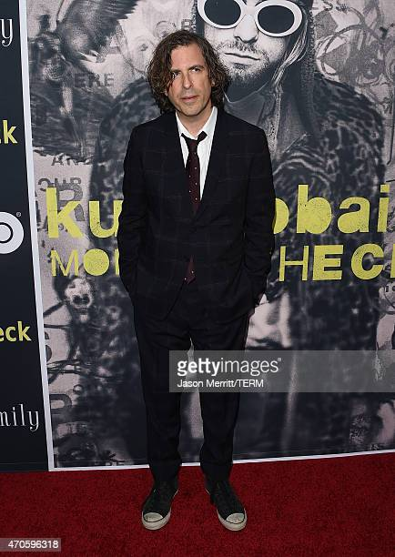 Director/Writer/Producer Brett Morgen attends HBO's 'Kurt Cobain Montage Of Heck' Los Angeles Premiere at the Egyptian Theatre on April 21 2015 in...