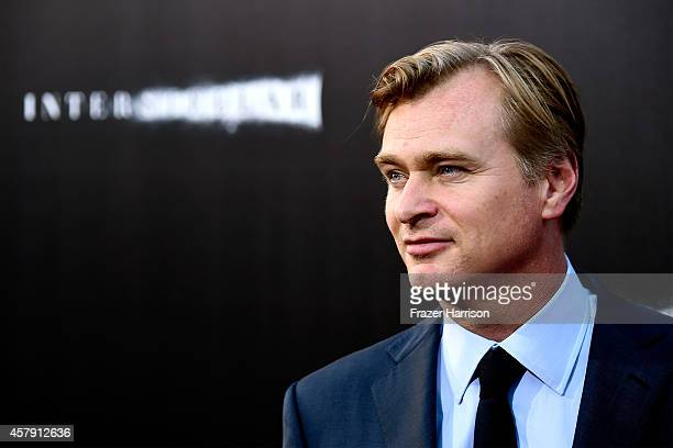 Director/writer/producer Christopher Nolan attends the premiere of Paramount Pictures' Interstellar at TCL Chinese Theatre IMAX on October 26 2014 in...