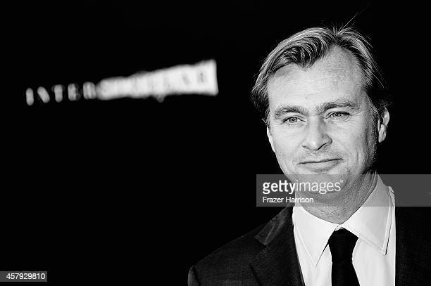"""Director/writer/producer Christopher Nolan attends the premiere of Paramount Pictures' """"Interstellar"""" at TCL Chinese Theatre IMAX on October 26, 2014..."""