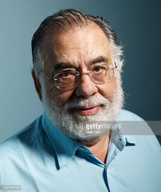Director/writer/producer Francis Ford Coppola of Twixt poses during the 2011 Toronto Film Festival at Guess Portrait Studio on September 12 2011 in...
