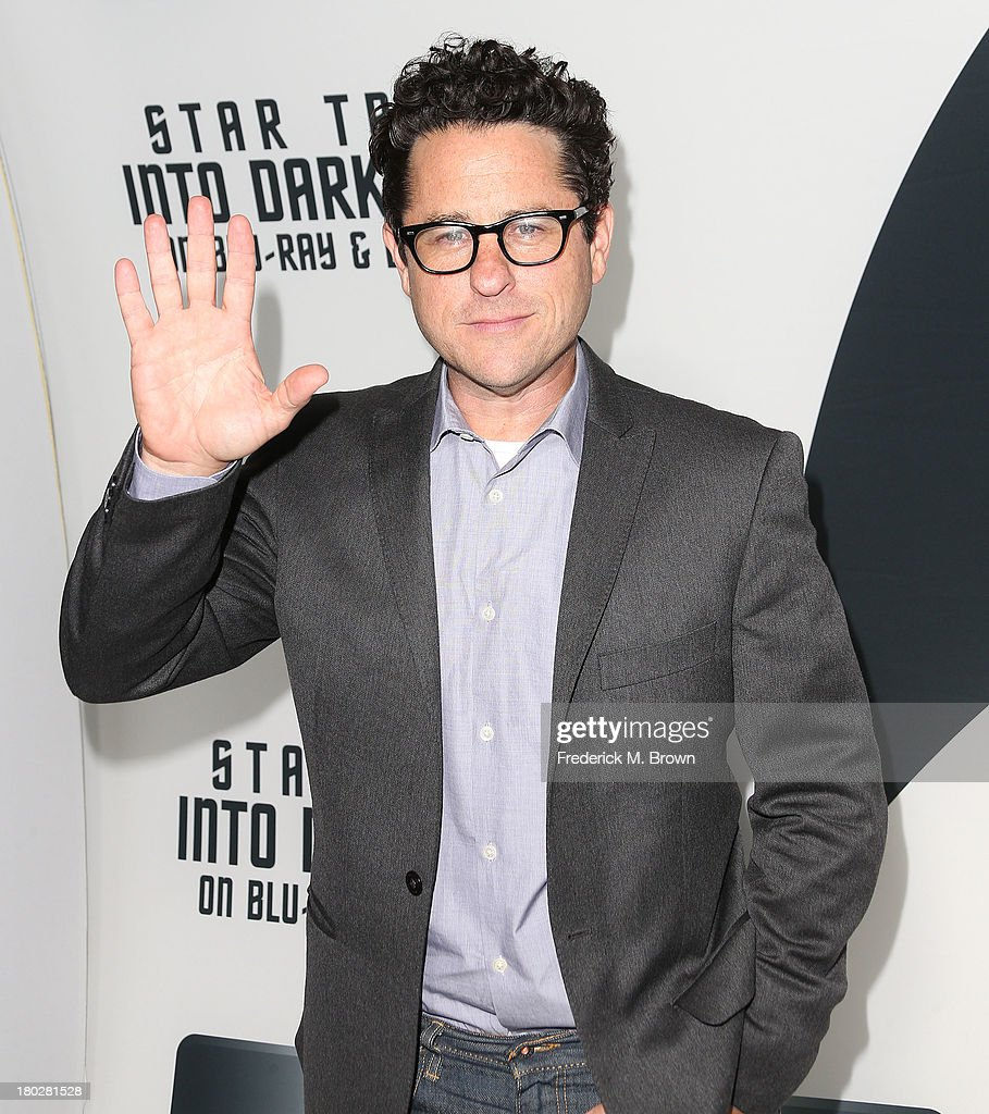 Director/writer/producer J. J. Abrams attends 'Star Trek Into Darkness' Blu-ray/DVD Release Event at the California Science Center on September 10, 2013 in Los Angeles, California.