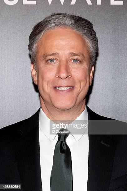 Director/writer/producer Jon Stewart attends the 'Rosewater' New York Premiere at AMC Lincoln Square Theater on November 12 2014 in New York City