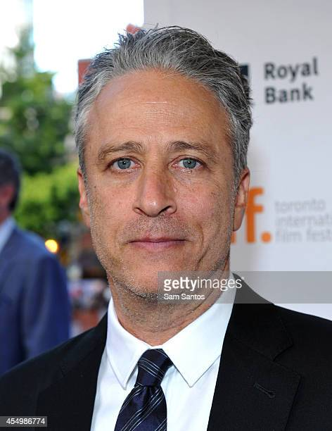 Director/writer/producer Jon Stewart attends the 'Rosewater' premiere during the 2014 Toronto International Film Festival at Princess of Wales...