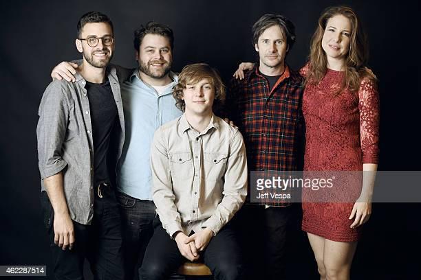 Director/writer/producer Matt Sobel executive producer Nick Case actor Logan Miller actor Josh Hamilton and actress Robin Weigert of Take Me to the...