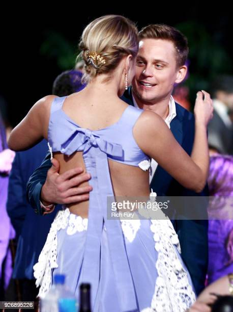 Director/wrtier Greta Gerwig and actor Billy Magnussen attend the 2018 Film Independent Spirit Awards on March 3 2018 in Santa Monica California