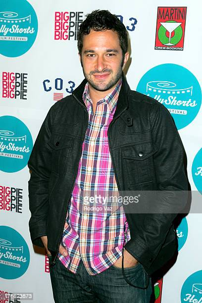 Directro Aaron Wolf attends the 9th Annual HollyShorts Film Festival Opening Night Arrivals at TCL Chinese Theatre on August 15 2013 in Hollywood...