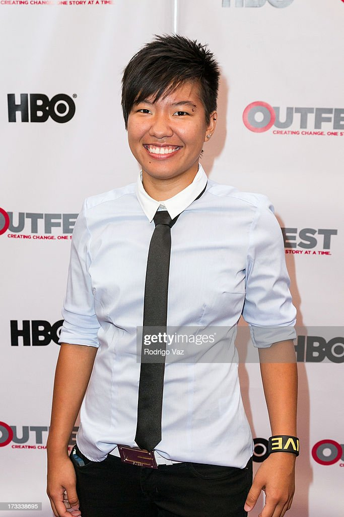 Directro Alex Siow arrives at the 13th Annual Outfest Opening Night Gala Of 'C.O.G.' at Orpheum Theatre on July 11, 2013 in Los Angeles, California.