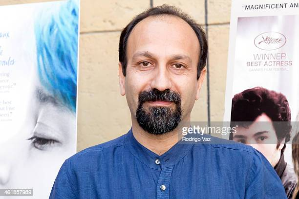 Directro Asghar Farhadi attends the Golden Globe ForeignLanguage Nominees panel discussion and screening series photo op at American Cinematheque's...