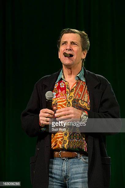 Dirk Benedict attends Emerald City ComiCon 2013 on March 3 2013 in Seattle Washington