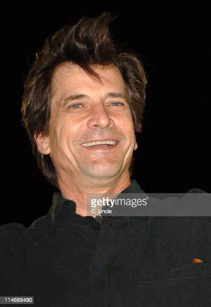 Dirk Benedict during Celebrity Big Brother 2007 Final Eviction at Elstree Studios in London Great Britain