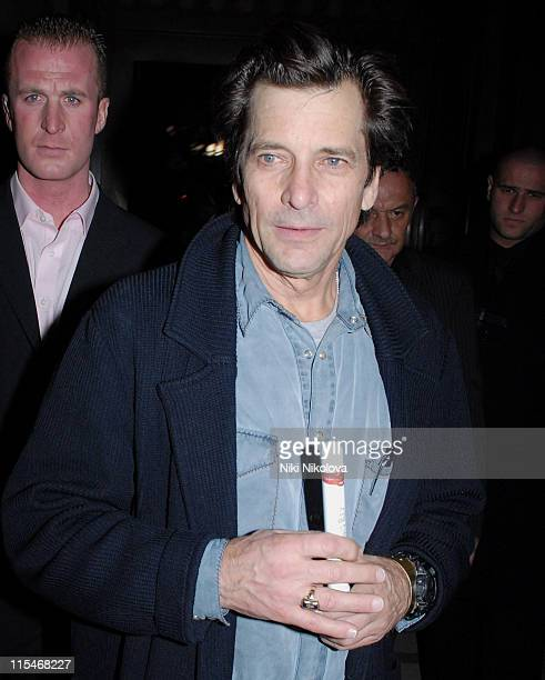 Dirk Benedict during Celebrity Big Brother Wrap Party Outside Arrivals at Bloomsbury Ballroom in London Great Britain