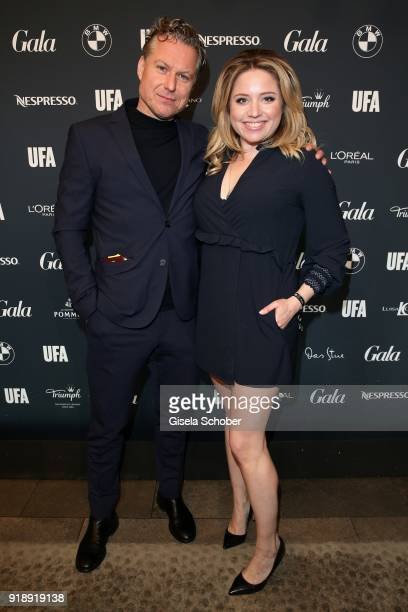 Dirk Borchardt and his wife Caroline Frier during the Berlin Opening Night by GALA and UFA Fiction at Das Stue Hotel on February 15 2018 in Berlin...
