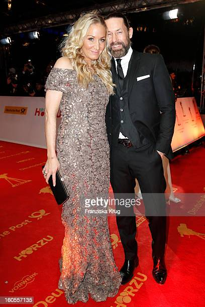 Dirk Budach and Janine Kunze attend the 'Goldene Kamera 2013' on February 2 2013 in Berlin Germany