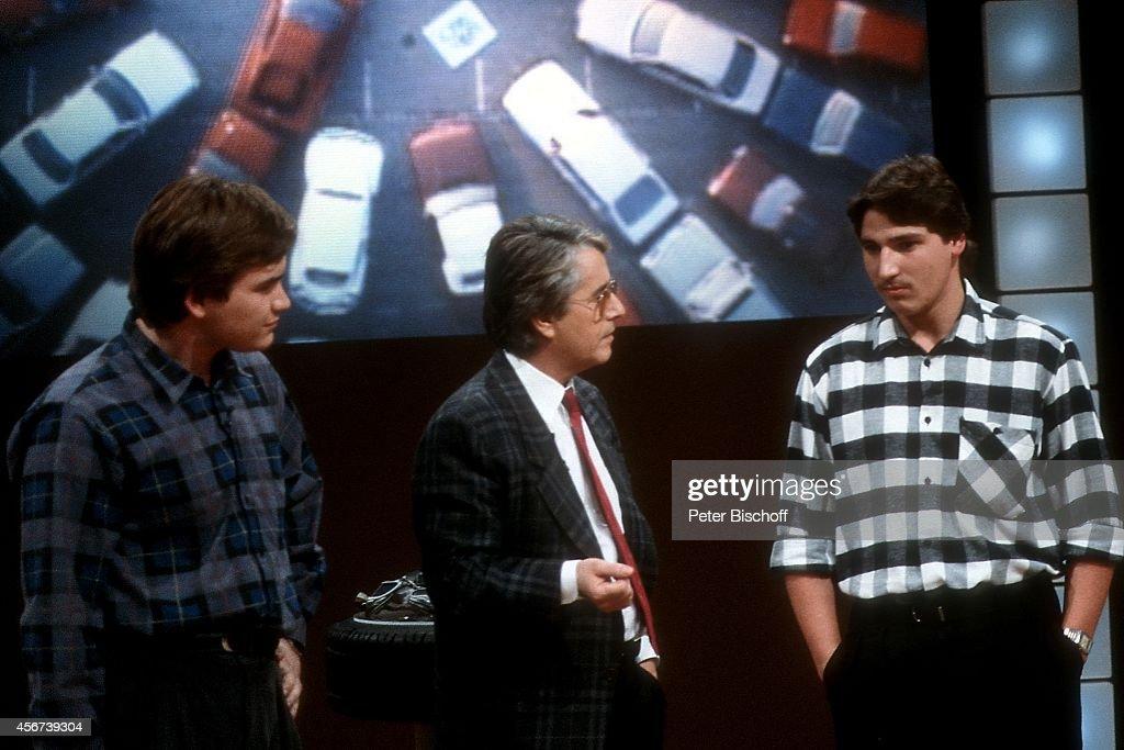 ZDF-Show 'Wetten, dass ...?' am 26.10.1985 in Böblingen : News Photo