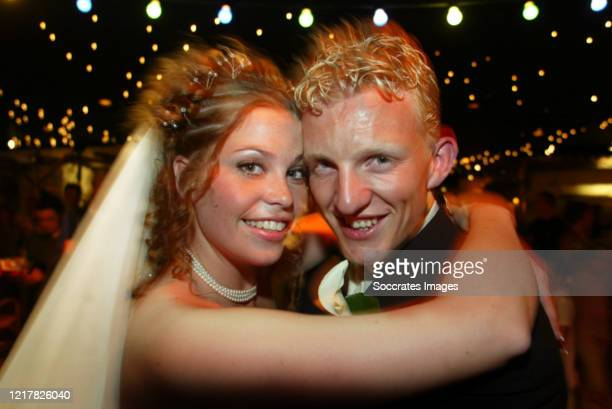Dirk Kuyt, Gertrude Kuyt during the Dirk Kuyt and Gertrude at the Rotterdam on June 5, 2020 in Rotterdam Netherlands