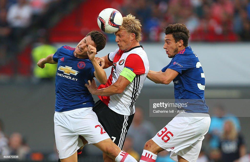 Feyenoord v Manchester United FC - UEFA Europa League : News Photo