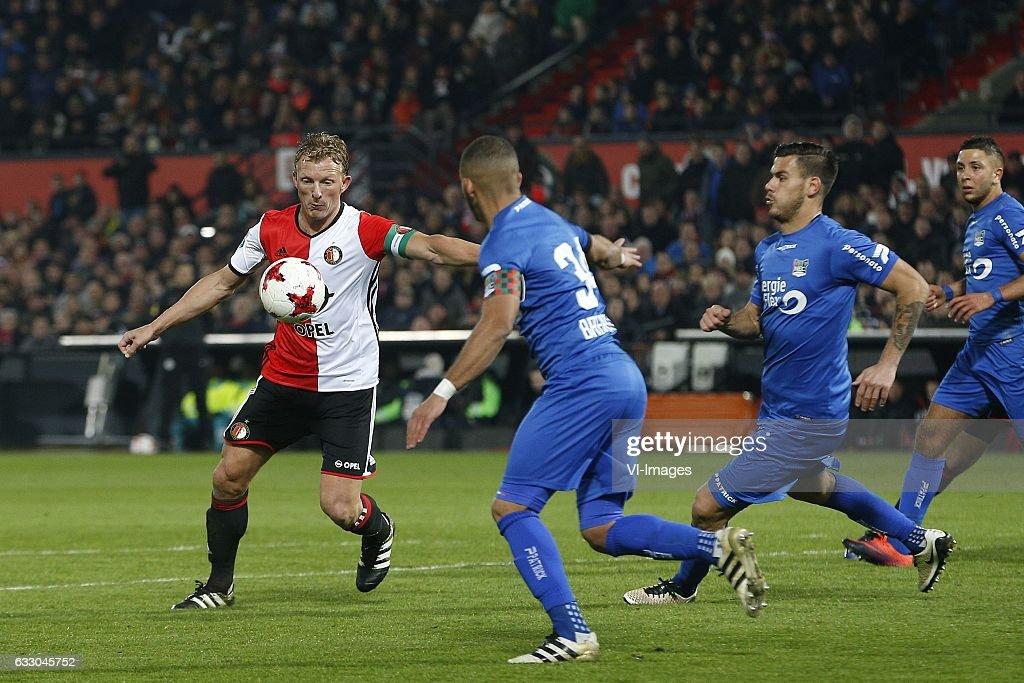 Dutch Eredivisie'Feyenoord V NEC Nijmegen' : News Photo